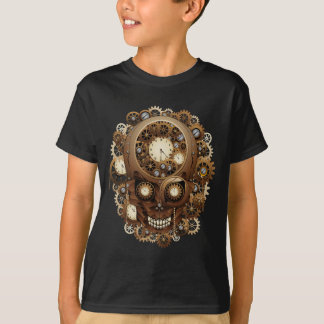 Steampunk Skull Vintage Style T-Shirt
