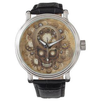 Steampunk Skull Vintage Style Watches