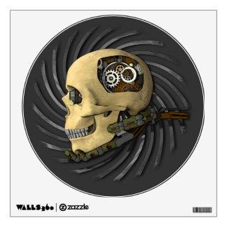 Steampunk Skull Wall Sticker