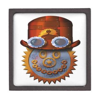 steampunk smiley jewelry box