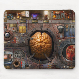 Steampunk - sobrecarga de información tapete de ratones