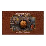 Steampunk - sobrecarga de información tarjetas de visita
