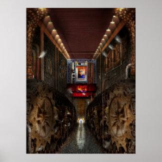 Steampunk - sociedad Dystopian Posters