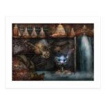Steampunk - sociedad industrial tarjetas postales