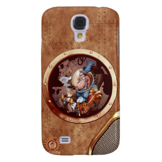 Steampunk Space Chimp HTC Vivid Phone Galaxy S4 Case
