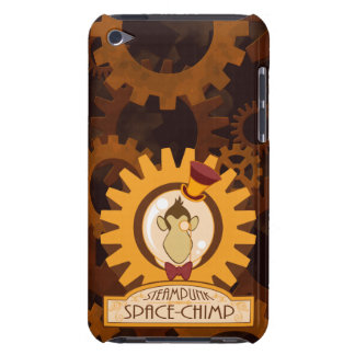 Steampunk Space Chimp Logo Phone iPod Touch Cases