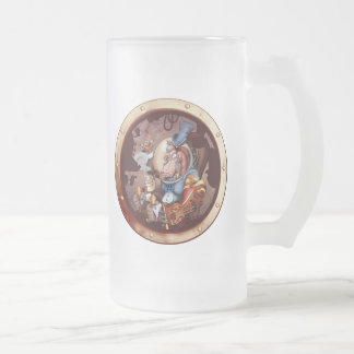 Steampunk Space Chimp Porthole Mug