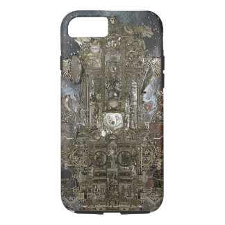 Steampunk Space Transport iPhone 8/7 Case