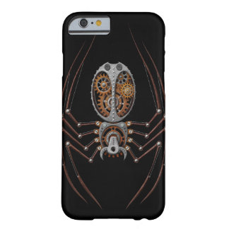 Steampunk Spider, black background Barely There iPhone 6 Case