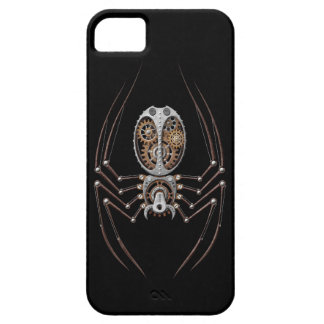 Steampunk Spider on Black iPhone 5 Covers