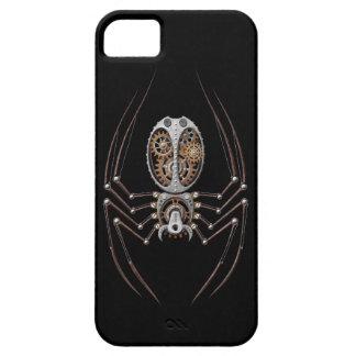 Steampunk Spider on Black iPhone SE/5/5s Case