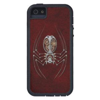 Steampunk Spider on Deep Red iPhone SE/5/5s Case