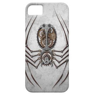 Steampunk Spider on Rough Steel iPhone SE/5/5s Case