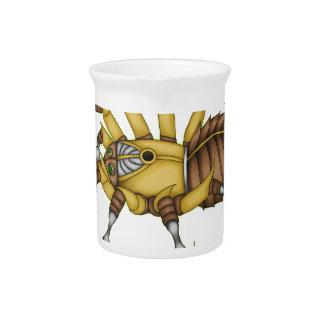 steampunk spider pitcher