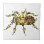 """steampunk spider tile<br><div class=""""desc"""">might craft another version with an effect or different colour scheme. I have a mass of other products if you want to check them out. come on,  mine are awesome! ish -_-</div>"""