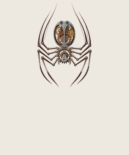 Steampunk Spider T Shirt