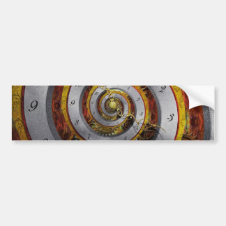Steampunk - Spiral - Infinite time Bumper Sticker