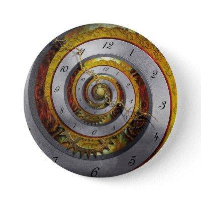 Steampunk - Spiral - Infinite time Pins