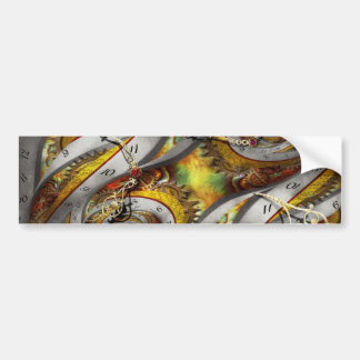 Steampunk - Spiral - Space time continuum Bumper Sticker