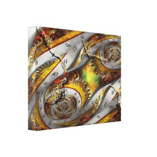 Steampunk - Spiral - Space time continuum Canvas Print