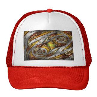 Steampunk - Spiral - Space time continuum Mesh Hats