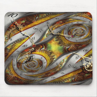 Steampunk - Spiral - Space time continuum Mouse Pad