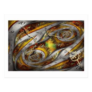 Steampunk - Spiral - Space time continuum Postcard