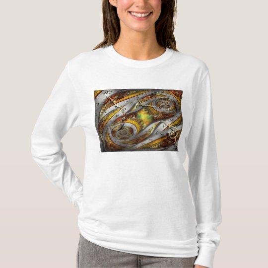 Steampunk - Spiral - Space time continuum T-Shirt
