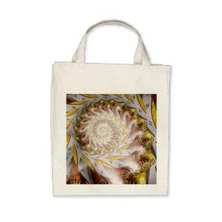 Steampunk - Spiral - Time Iris Canvas Bags