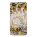 Steampunk - Spiral - Time Iris Cover For iPhone 4