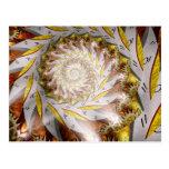 Steampunk - Spiral - Time Iris Postcards