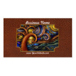 Steampunk - Starry night Double-Sided Standard Business Cards (Pack Of 100)