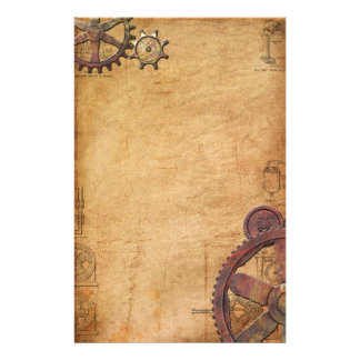 Steampunk Stationery