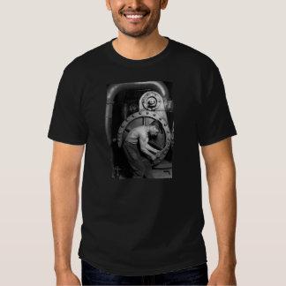 Steampunk Steam Pump Mechanic Tee Shirt