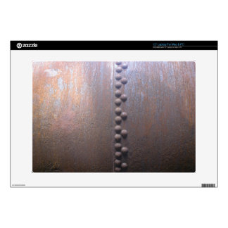 """Steampunk Steel-plated Metal-look Gift Decal For 15"""" Laptop"""