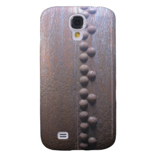 Steampunk Steel-plated Metal-look Gift Galaxy S4 Cover