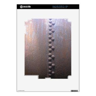 Steampunk Steel-plated Metal-look Gift iPad 2 Skin