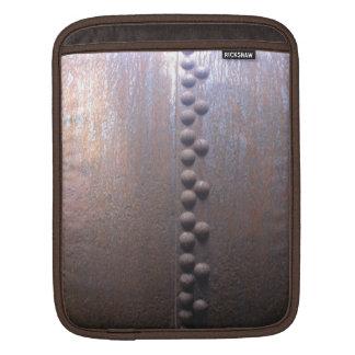 Steampunk Steel-plated Metal-look Gift iPad Sleeve