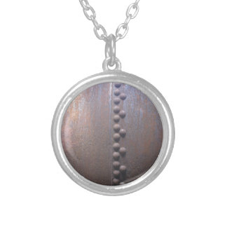 Steampunk Steel-plated Metal-look Gift Silver Plated Necklace