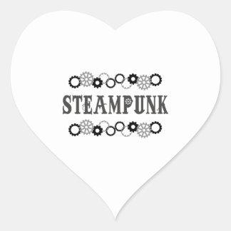STEAMPUNK HEART STICKERS