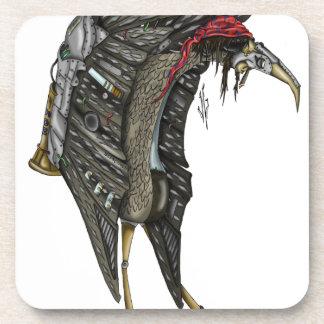 Steampunk Stork Coaster