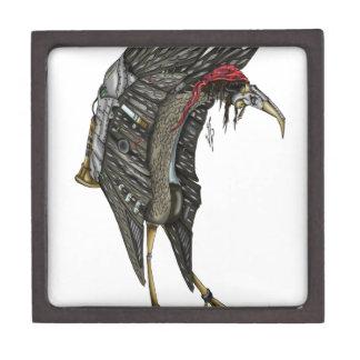 Steampunk Stork Jewelry Box
