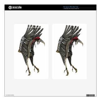 Steampunk Stork Skins For Kindle Fire