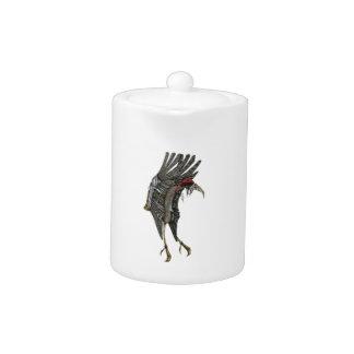 Steampunk Stork Teapot
