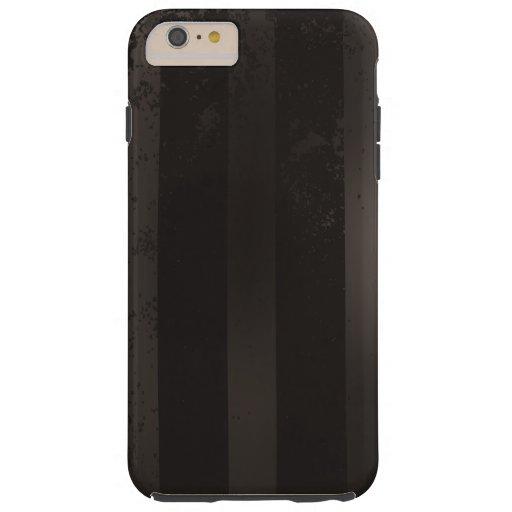 Steampunk striped brown background tough iPhone 6 plus case