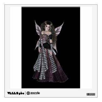 Steampunk style fairy faerie room decals