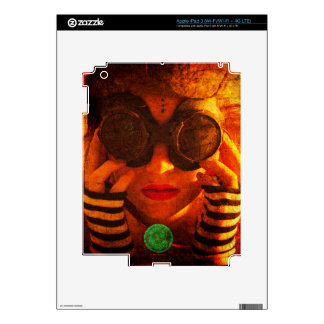 Steampunk style skin for iPad 3