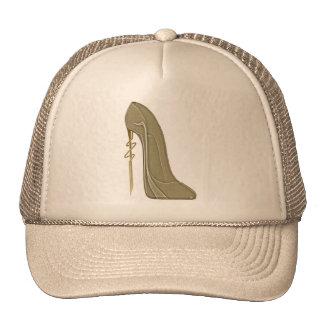 Steampunk Style Stiletto Shoe Art Trucker Hat