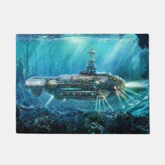 Steampunk Submarine Doormat