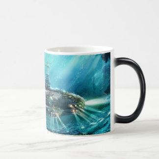 Steampunk Submarine Morph Mug